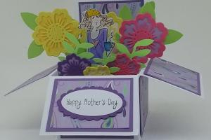 Box Card 51 Mothers Day