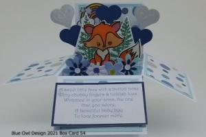 box card 54 Baby Fox