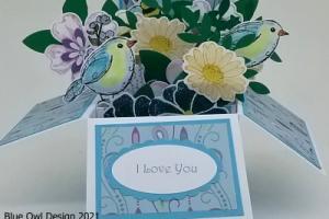 Box card 49 I Love You