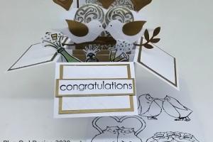 Box Card 34 Wedding or Engagement