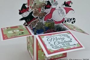 Christmas 1 santa and elves