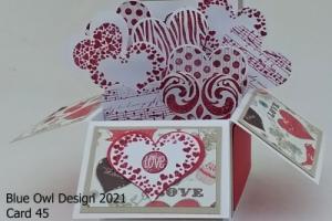 Box card 45 Love