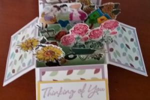 box card 14 Girls in the Garden
