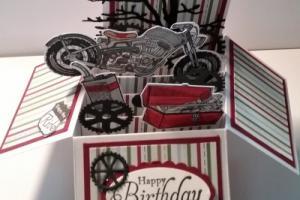 box card 23 motorbike