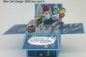 box card 6 old man scene