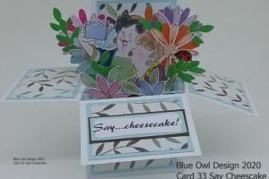 Box Card 33 Say Cheesecake