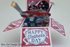 Box Card 37 Dad's Workshop